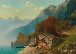 D-5992 Otto von Kameke - Alpské jezero