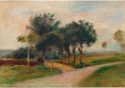 D-6712 Pierre-Auguste Renoir - Stromy u křížení cest