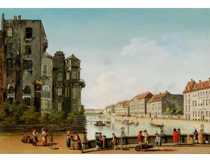 Slavné obrazy III-DDSO-511 Carl Traugott Fechhelm - Berlínský městský palác
