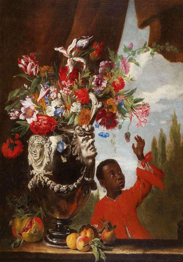 DDSO-1880 Abraham Brueghel - Květinové zátiší