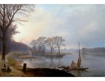Slavné obrazy XIV-44 Johan Christian Dahl - Drážďany