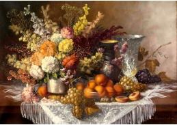 Krásné obrazy VI-92 Neznámý autor - Zátiší s květinami