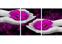 Obraz - Triptych 3D-6122