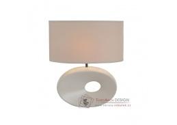 Keramická stolní lampa QENNY typ 9 bílá