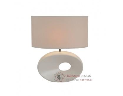 QENNY, keramická stolní lampa typ 9, bílá