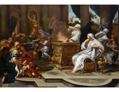 Slavné obrazy XVI-397 Ciro Ferri - Vestalka