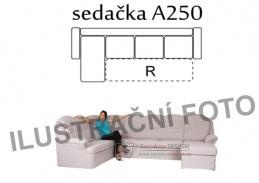 BONDY A250, sedací souprava, výběr provedení