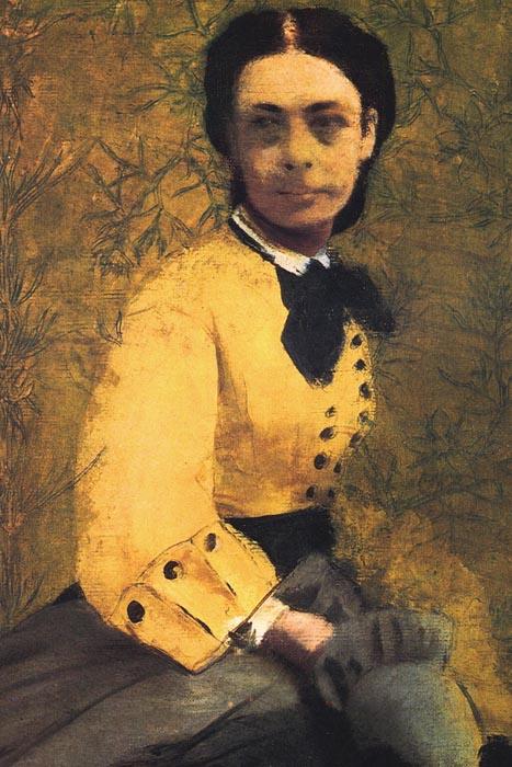 R6-114 Edgar Degas - Portrét Pauline de Metternich
