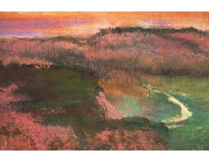 R6-176 Edgar Degas - Krajinomalba