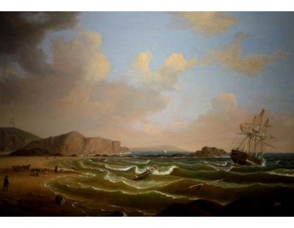 VL367 Fitz Henry Lane - Ztroskotání lodi Roma