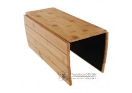 ALTE, odkládací plocha - podložka na područe sedačky, přírodní bambus