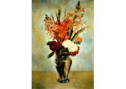 VR14-170 Pierre-Auguste Renoir - Zátiší s květinami