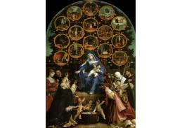 VLL 36 Lorenzo Lotto - Růžencová Madonna