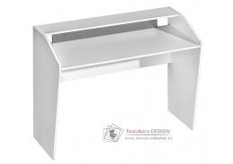 TRAFICO 09, pracovní stůl, bílá / popel