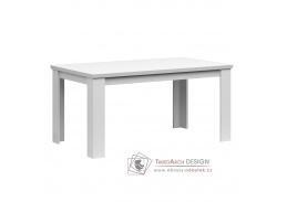 ARYAN, jídelní stůl rozkládací 160-200x91cm, bílá