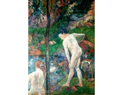 R9-50 Paul Gauguin - Dvě koupající se ženy