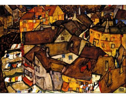 VES 244 Egon Schiele - Český Krumlov