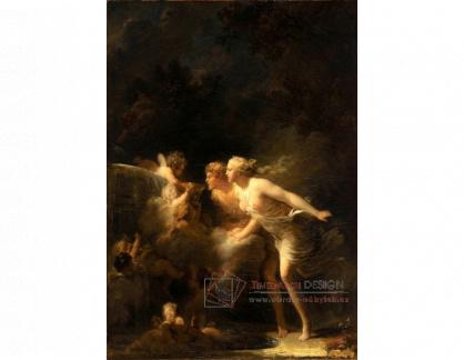VJHF 20 Jean-Honoré Fragonard - Fontána lásky