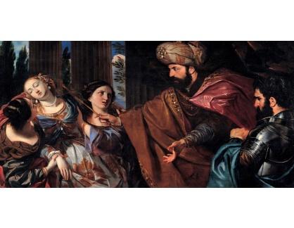 VP383 Giovanni Bonati - Esther před Ahasuerusem