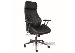 Alba PYTHON, kancelářská židle, ekokůže antracitová