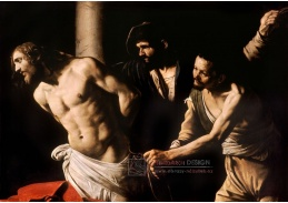 VCAR 05 Caravaggio - Kristus u sloupu