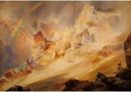 KO VI-398 Thomas Moran - Duha nad Grand Canyon v Yellowstone