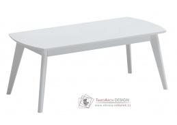 Konferenční stolek 105x50 cm AMERIGO bílá
