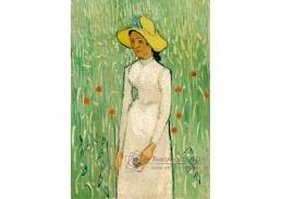 D-8080 Vincent van Gogh - Dívka v bílém