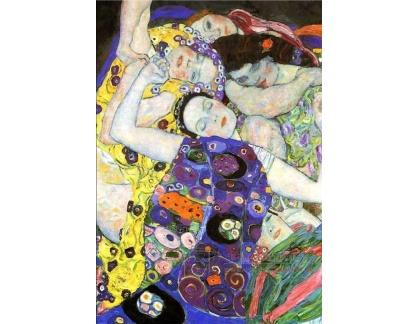 R3-9 Gustav Klimt - Panny, detail
