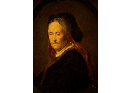 R4-109 Rembrandt - Portrét Rembrandtovy matky