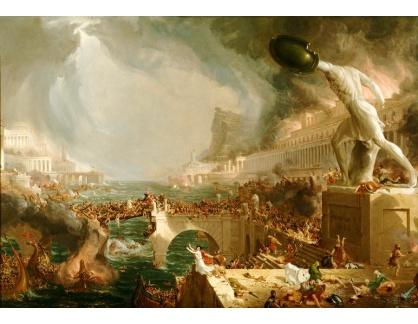KO VI-383 Thomas Cole - Konec řimského impéria