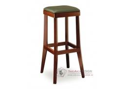 DANIEL 373048, barová židle, bukový masiv / látka