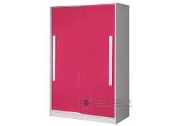GULLIWER 12, šatní skříň s posuvnými dveřmi 120cm, výběr barev