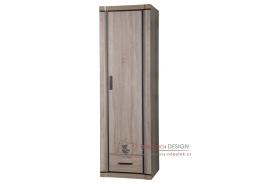 DALLAS D-19, šatní skříň 1-dveřová - pravá, výběr provedení