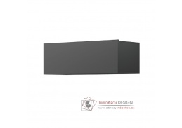 SPRING ED90, závěsná skříňka, grafit