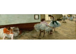 D-8433 Edgar Degas - Lekce tance