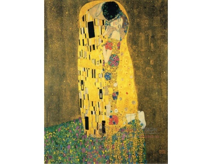 VR3-134 Gustav Klimt - Polibek