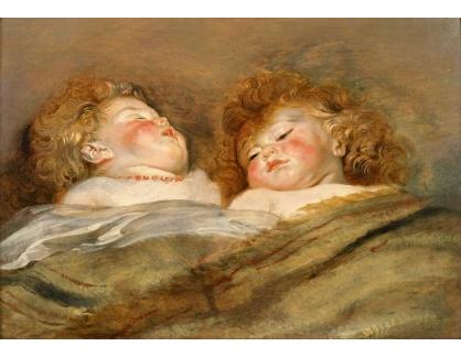 VRU204 Peter Paul Rubens - Dvě spící děti