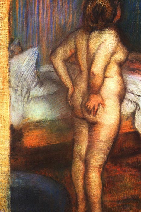R6-147 Edgar Degas - Akt