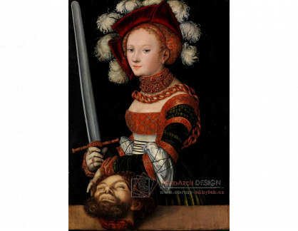 VlCR-221 Lucas Cranach - Judita s hlavou Holoferna