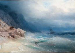 VR-351 Ivan Konstantinovič Aivazovsky - Bouře na jezeře