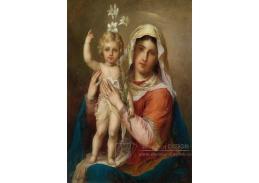 VRHZ 2 Hans Zatzka - Madonna s dítětem