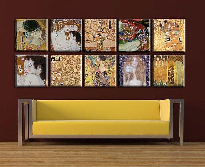 Obrazový set 10D Gustav Klimt