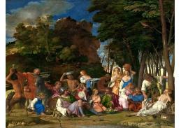 SO XII-387 Giovanni Bellini a Tizian - Slavnost bohů