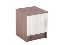 BASIA TB-551, noční stolek, jasan šimo tmavý / jasan šimo světlý