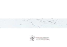 Nástěnný panel 305cm, mramor markvina bílý