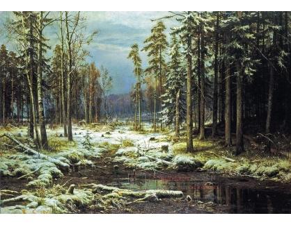 VR-337 Ivan Ivanovič Šiškin - První sníh