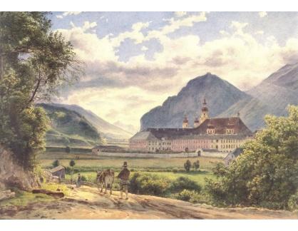VALT 38 Jacob Alt - Pohled na Wilten v Innsbrucku