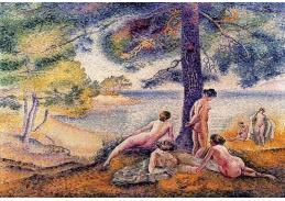 Slavné obrazy IX 12 Henri-Edmond Cross - U jezera