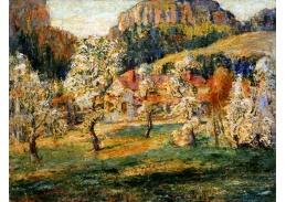 Krásné obrazy III-110 Ernest Lawson - Květen v horách